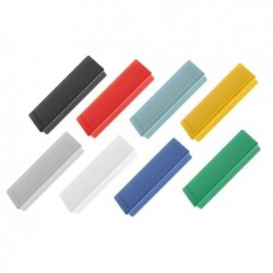 MAGNÉTOPLAN Paquet de 10 Aimants rectangulaire 54 x 19 mm Bleu