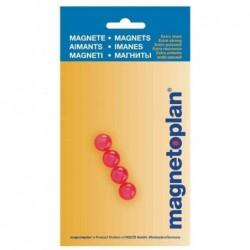 MAGNÉTOPLAN boules magnétiques, 14 mm, bleu, contenu: 4 pcs