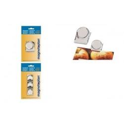 MAGNÉTOPLAN clip magnétique, 50 mm, argent, contenu: 1 pièce