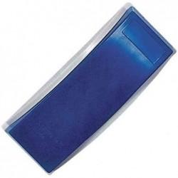 MAGNÉTOPLAN Brosse magnétique pour tableau, bleu + 5 recharges