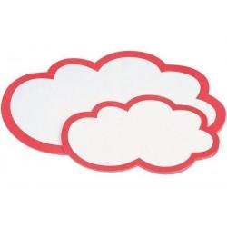 MAGNÉTOPLAN Cartes de présentation nuages grand, 620 x 370mm