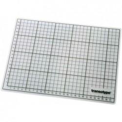 TRANSOTYPE Plaque de coupe Transparente (L)450 x (P)300 x (H)3 mm