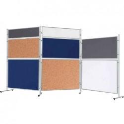 FRANKEN Tableau textile pour système ECO, 1.200 x 1.200 mm