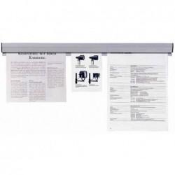 FRANKEN Rail de serrage pour papier Adhésif Longueur 880 mm