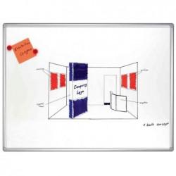 FRANKEN Tableau mural PRO émaillé magnétique effaçable 2000 x 1000 mm Blanc