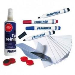 FRANKEN Set d'accessoire pour tableau mural blanc X-tra!Line