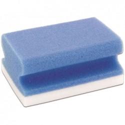 FRANKEN Eponge de nettoyage universelle X-Wipe!, bleu/blanc