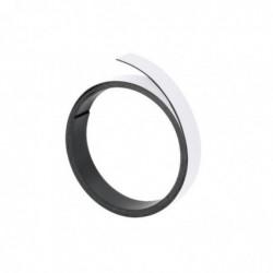 FRANKEN Bande magnétique découpable 5 mm x 1 m Blanc