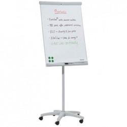 FRANKEN Chevalet de conférence mobile U-Act ! line 70 x 100 cm gris clair