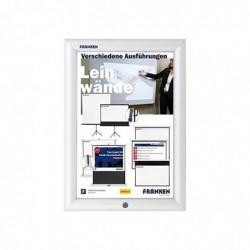 FRANKEN Cadre porte-affiches Security A4 Aluminium Film Anti reflets
