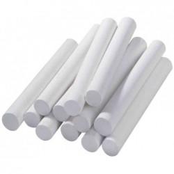 FRANKEN Bte de 12 Craies à Tableau noir Ronde 70 mm Blanc