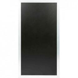 SECURIT Cloison / Tableau / Pare vue MULTI BOARD Tableau noir Cadre Blanc 60 x 115 cm