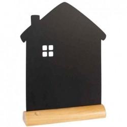 """SECURIT Ardoise de table SILHOUETTE """"maison"""" 21 x 33 cm"""