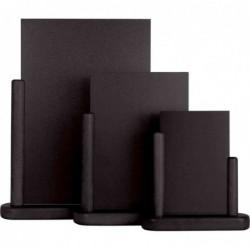 SECURIT Ardoise de table ELEGANT 20 x 23 cm Noir