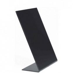 SECURIT Lot de 3 Ardoises de table L-BOARDS A6 105x148 mm Noir