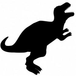 SECURIT Tableau à Craie SILHOUETTE 30 x 47 cm Forme Dino