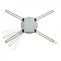 MEDIUM support plafond pour projecteur standard, réglable de 600 à 1100 mm Gris