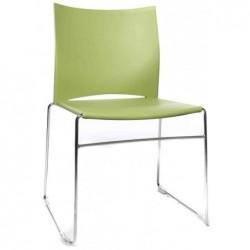 """TOPSTAR chaise visiteur """"W-Chair"""", vert"""