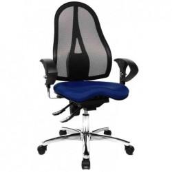 "TOPSTAR Chaises de bureau ""Sitness 15"", housse: bleu royal"