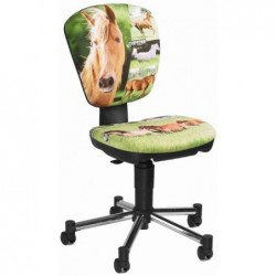 "TOPSTAR Chaise pivotante pour enfants ""Kiddi Star Horse"""