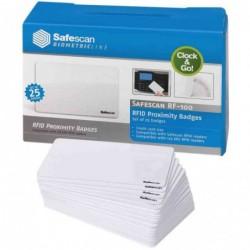 SAFESCAN cartes RFID RF-100 pour pointeuse