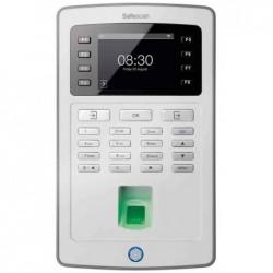 SAFESCAN pointeuse TA-8025, detecteur d'empreinte digitale, Gris