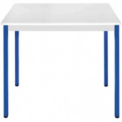 SODEMATUB Table universelle 126RGBL,1200x600,gris clair/bleu
