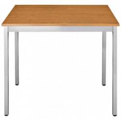 SODEMATUB Table universelle 126RMA, 1200x600, merisier/alu