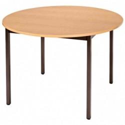 SODEMATUB table universelle 110ROPB, 1.100mm, poirier/marron