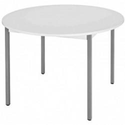 SODEMATUB table universelle 120ROGG, 1.200 mm, gris/gris