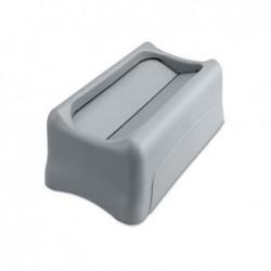RUBBERMAID Couvercle basculant pour Slim Jim 60 ou 87 L Gris