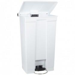 RUBBERMAID Collecteur à Pédale Slim Jim 50 litres (L)456 x (P)291 x (H)718 mm Blanc