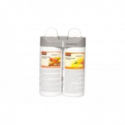 RUBBERMAID Pack 2 recharges Désodorisant pour Microburst Duet Tender Fruits et Citrus Leaves
