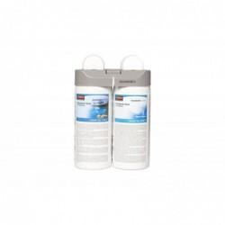 """RUBBERMAID Pack 2 Recharges Désodorisant Microburst Duet """"Clean Sense"""" et """"Cool Breeze"""""""