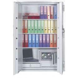 PHOENIX Coffre Fort FIRE COMMANDER Série FS1903E Serrure électronique haute sécurité Blanc 699L
