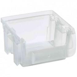 ALLIT Bac à bec PrifiPlus Compact 1PP (L)100 x (P)100 x (H)60 mm Transparent