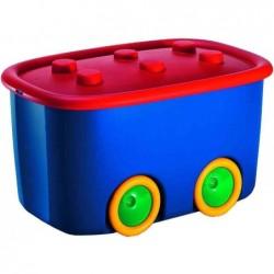"""SMARTBOXPRO boîte de rangement smartboxpro """"Funny Box L"""" 46 litres Multicolore"""