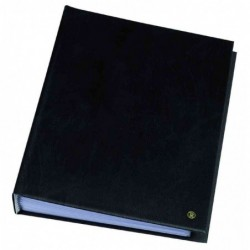 "RILLSTAB Protège-documents ""Original"" A4 80 pochettes Noir"