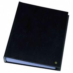 RILLSTAB Protège-documents ORIGINAL Format A5 20 pochettes Noir