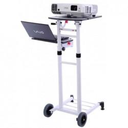 """MEDIUM Chariot de projection """"VT3"""" mobile Multi plateau Blanc"""