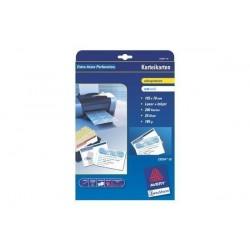 AVERY ZWECKFORM Paquet de 200 Cartes 105x70mm pour imprimante à jet d'encre