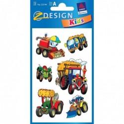 "AVERY ZWECKFORM Stickers Z-Design Kids ""Tracteur"""