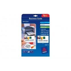 AVERY ZWECKFORM Cartes de visite Quick & Clean, mat, 260g/m2