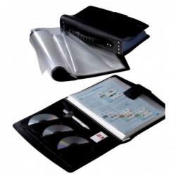 ELBA Protège-documents à faisceaux Tout-Terrain, A4 100 pochettes, noir
