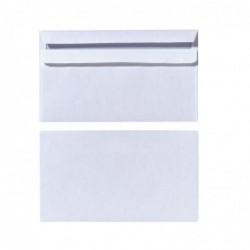 HERLITZ Lot de 25 enveloppes DL 110x220 mm 75g Autocollantes Blanc