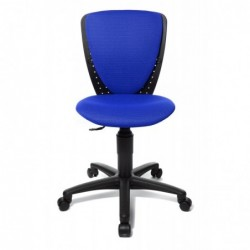 "TOPSTAR Chaise pivotante pour enfants ""HIGH S'COOL"", tissu: Bleu"