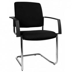 """TOPSTAR Lot de 2 chaises de bureau """"rembourrage BtoB 20"""", noir"""