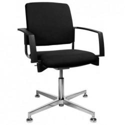 """TOPSTAR Chaise de bureau """"rembourrage 3D BtoB 30"""", noir"""