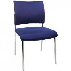 """TOPSTAR Lot de 2 chaises de bureau """"rembourrage Visit 10"""", bleu"""