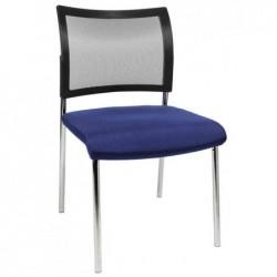 "TOPSTAR Lot de 2 chaises de bureau ""filet Visit 10"", bleu"